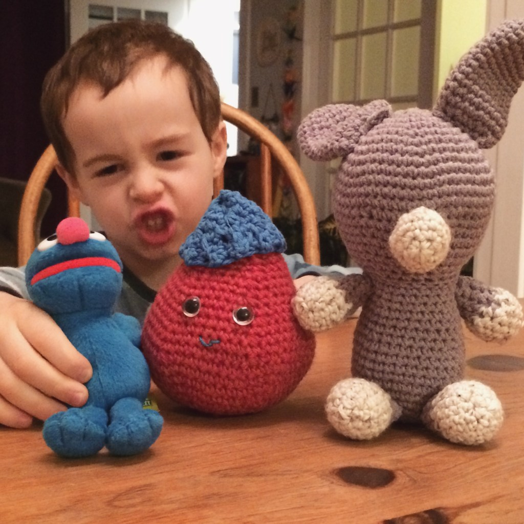 Amigurumi from ages ago