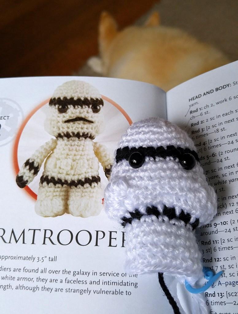 Star Wars Stormtrooper Amigurumi crochet