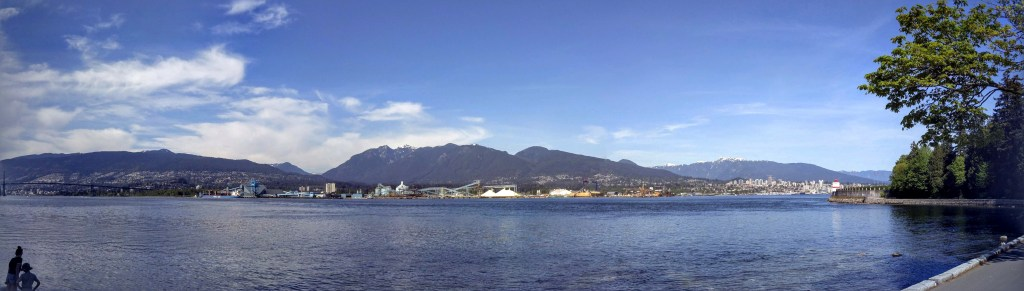 Vancouver Panorama from Stanley Park