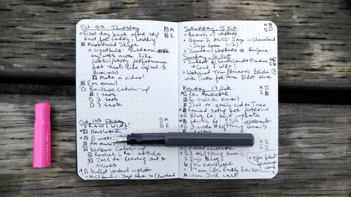 Small-format bullet journaling – http://kimwerker.com/blog