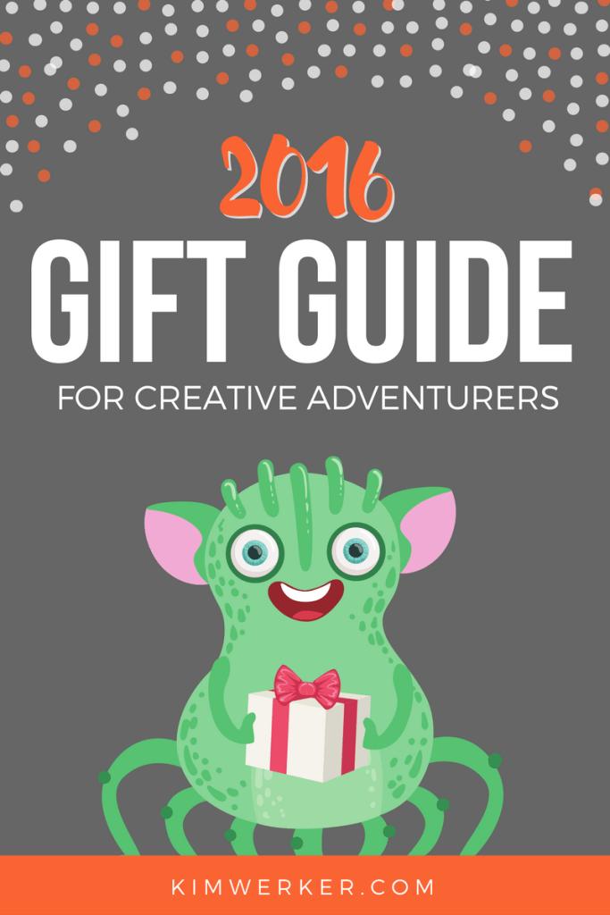 2016 Gift Guide for Creative Adventurers - http://kimwerker.com/blog