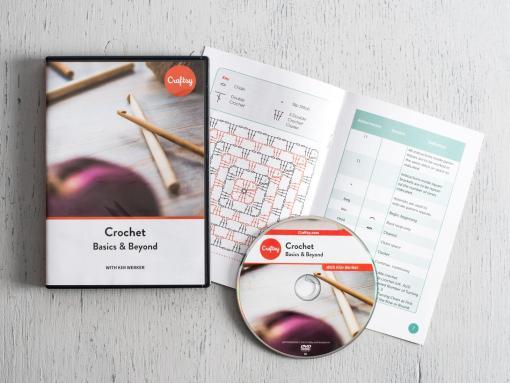 Get a signed DVD of my class, Crochet: Basics & Beyond!