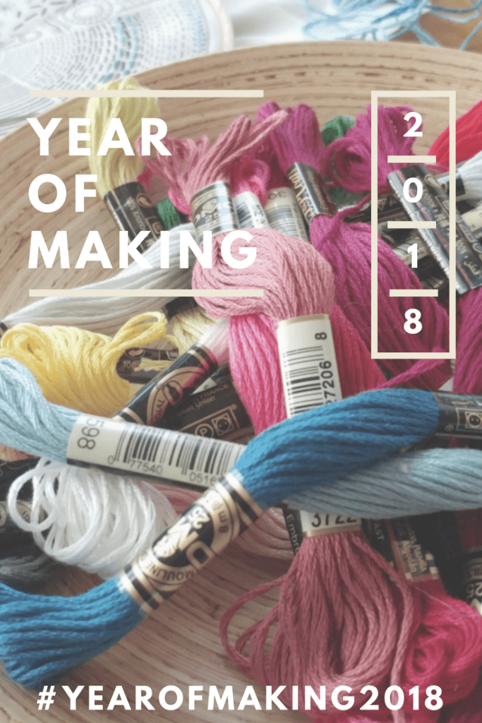 Create a stress-free creative habit! #yearofmaking2018 – http://www.kimwerker.com/blog