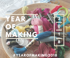 Create a stress-free creative habit! #yearofmaking2018 – https://www.kimwerker.com/blog