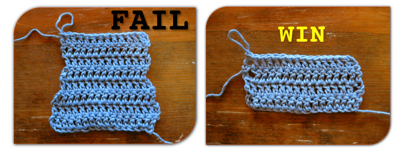 How to make neat edges in double crochet – http://kimwerker.com/blog