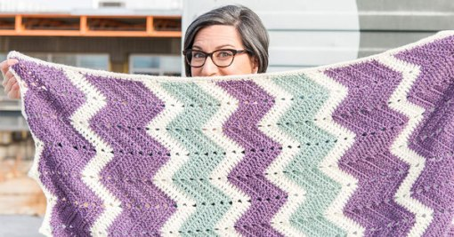 Zigzag Crochet: A Beginner's Guide to Ripples & Waves – https://shrsl.com/tc3c