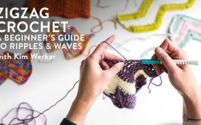 Enter to Win My New Zigzag Crochet Class!