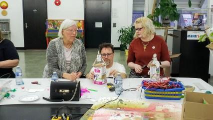Justin Miles Chicken Automata workshop - New Craft Symposium