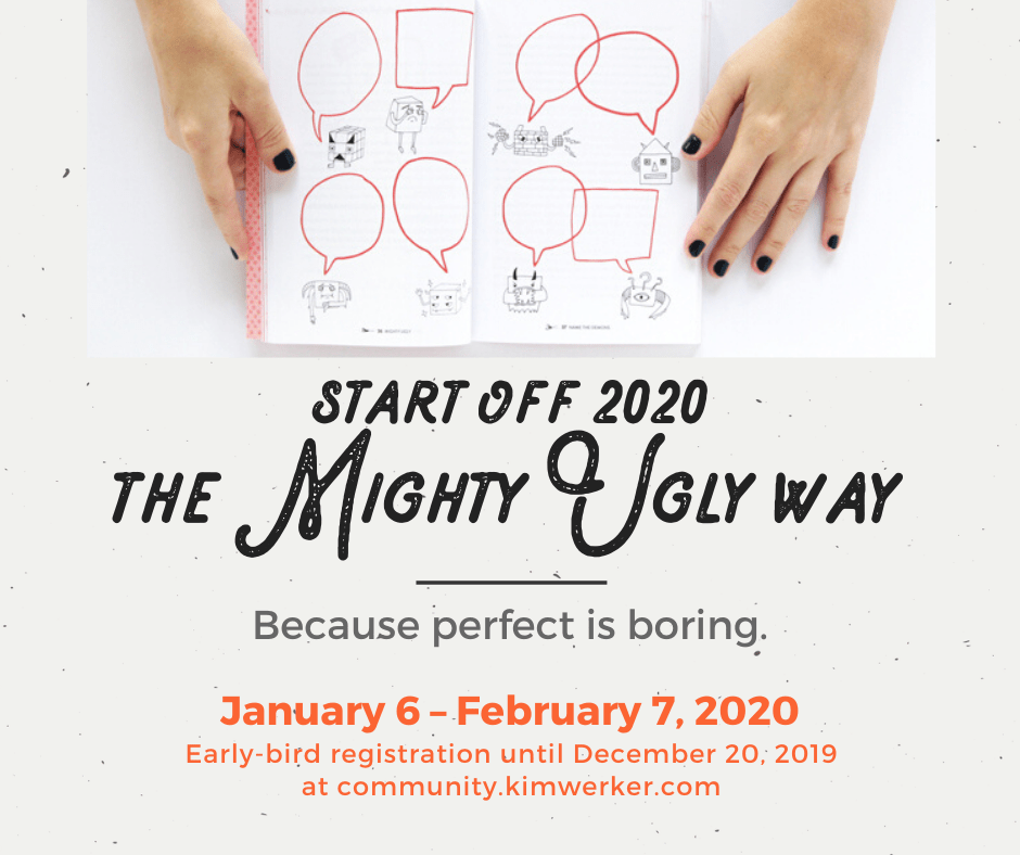Start off 2020 the Mighty Ugly way – book club/workshop!