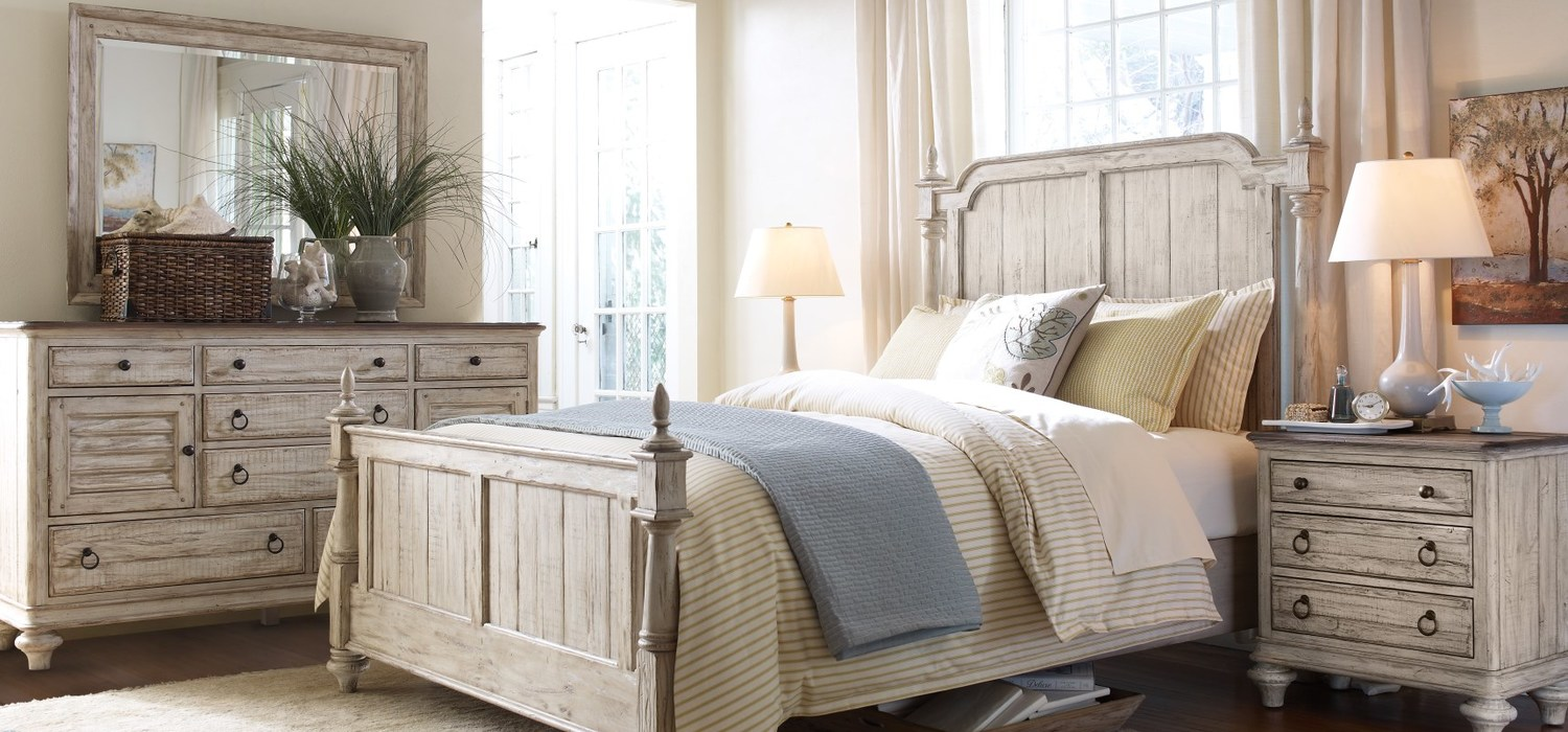 Cornsilk Finish Of Weatherford Collection By Kincaid Furniture