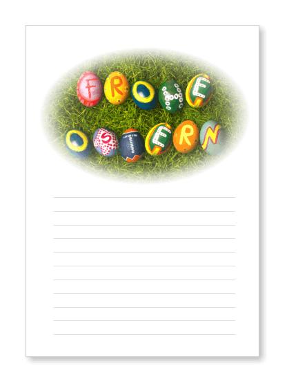 Osterbriefpapier Zum Ausdrucken Ostern
