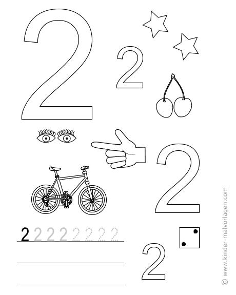 Zahlen Lernen Zhlen Bungsbltter Ausdrucken