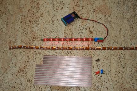 fischertechnik SMD LED Strip Bauteile