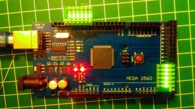 Arduino Mega LED