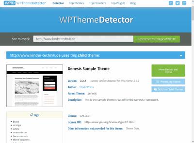 wpthemedetector