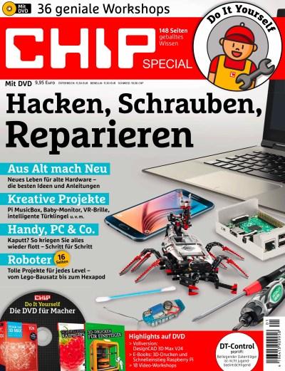 Hacken, Schrauben, Reparieren CHIP Sonderheft