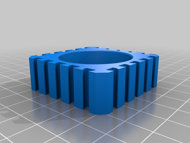 fischertechnik motorhalterung aus dem 3d drucker kinder und technik. Black Bedroom Furniture Sets. Home Design Ideas