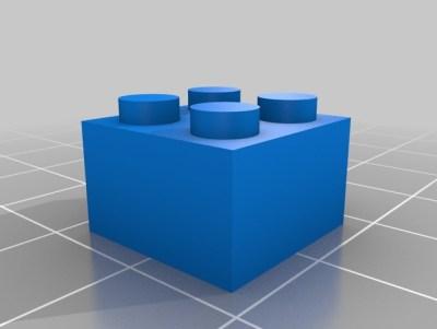 LEGO Bausteine aus dem 3D-Drucker