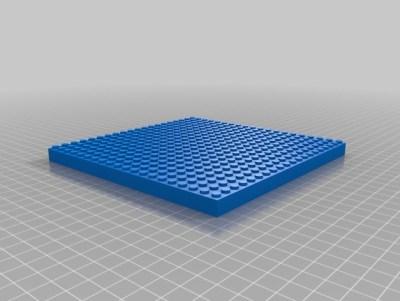 LEGO brick 20x20
