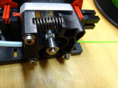 fischertechnik 3D-Drucker Extruder