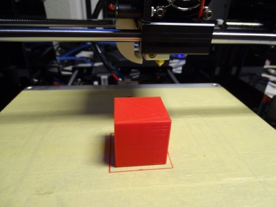 Anet A6 - Test Cube