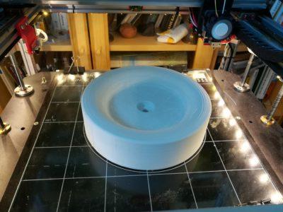 Aldi Rasenmäher Ersatzrad im 3D Drucker