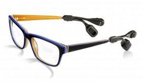Knochenleitungsbrille: Bildquelle Bruckhof Hannover