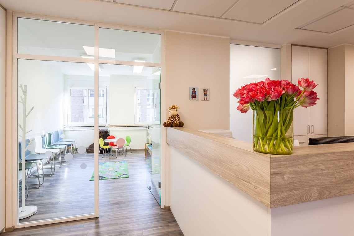 Your pediatrician in Cologne-Sulz near downtown private services
