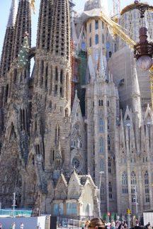 Nahaufnahme Sagrada Familia
