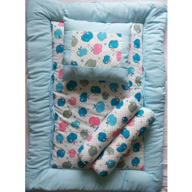 Love Baby Mattress Gaddi Set 743 Blue