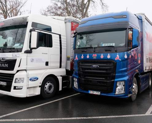 Vervoer trucks