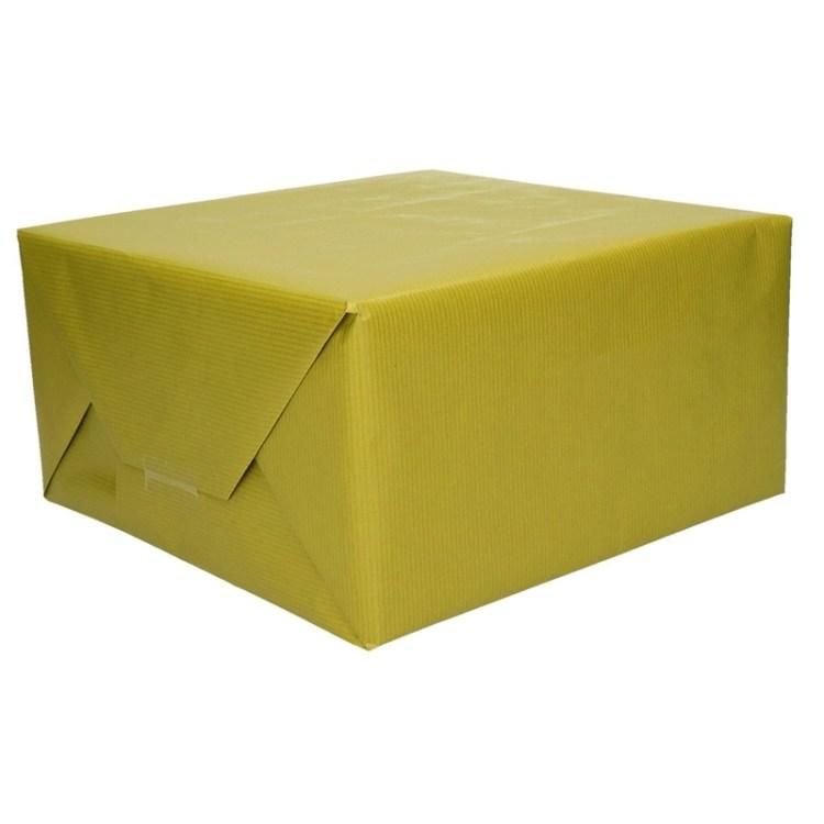Groen kraftpapier op rol 200 cm