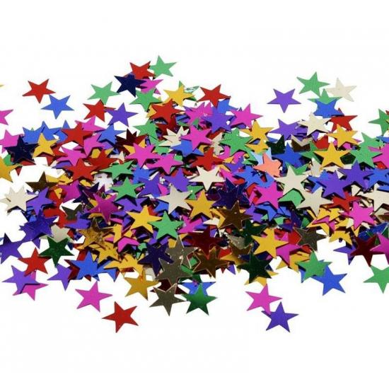 Hobby artikelen sterren pailletten 10 gram