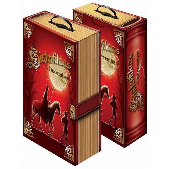 Kado verpakking Sinterklaas boek