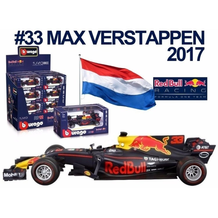Red Bull F1 wagen RB13 Max Verstappen 1:43