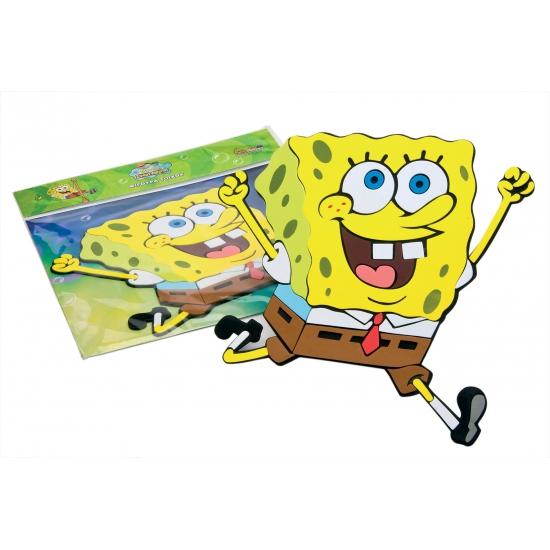 Spongebob thema muursticker 34 cm