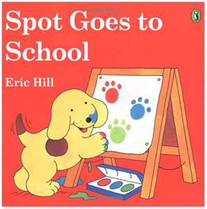 Spot goes to school flap book