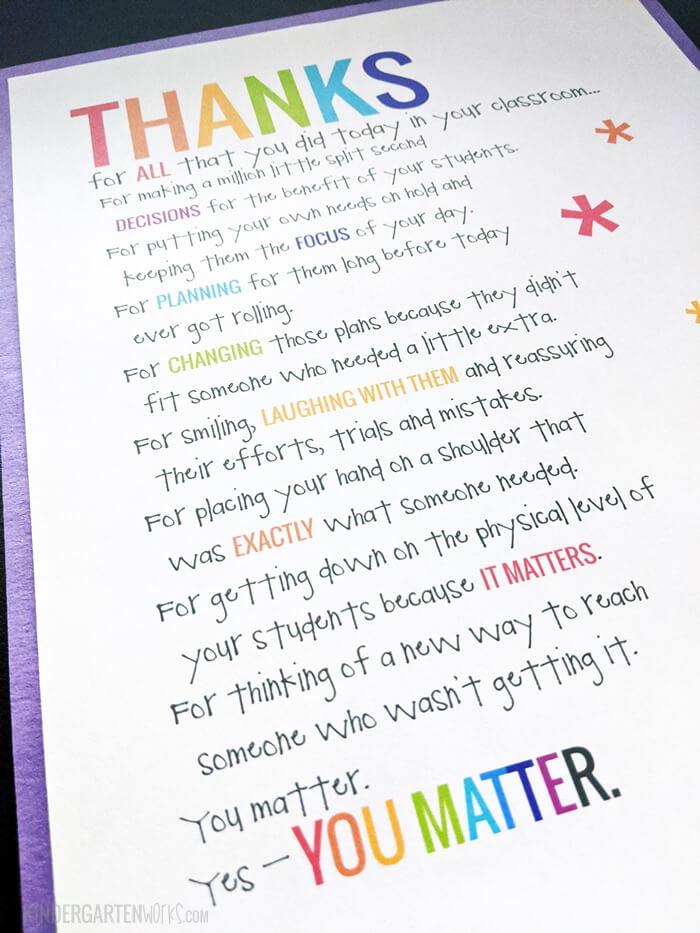 Teacher Appreciation Poems And Quotes QuotesGram