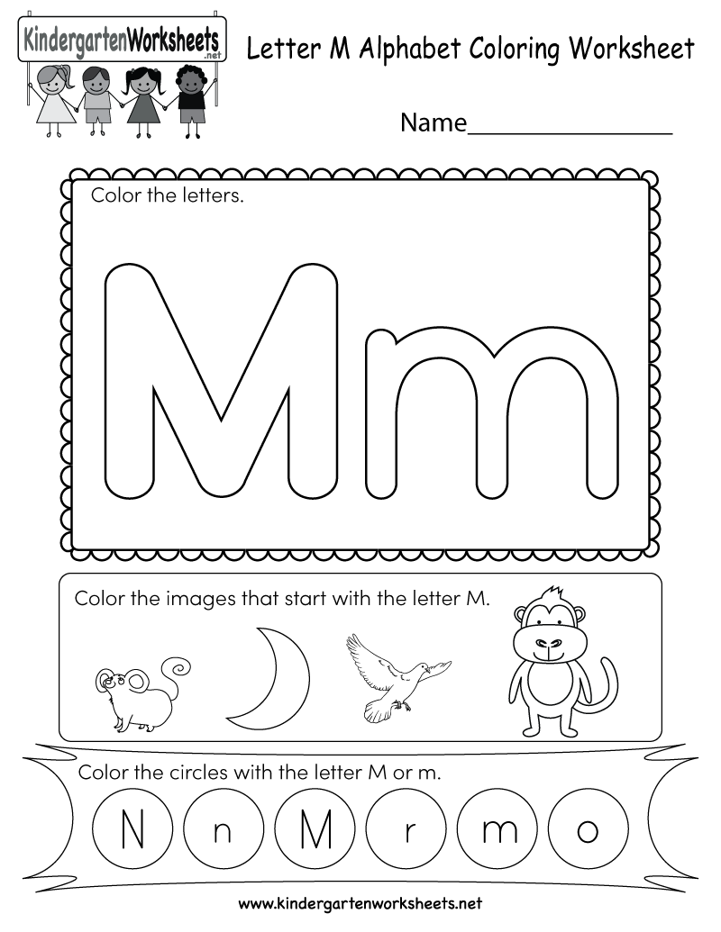 Preschool m coloring pages - Color By Letter Worksheets For Preschool Redcabworcester S And Coloring Pages U And