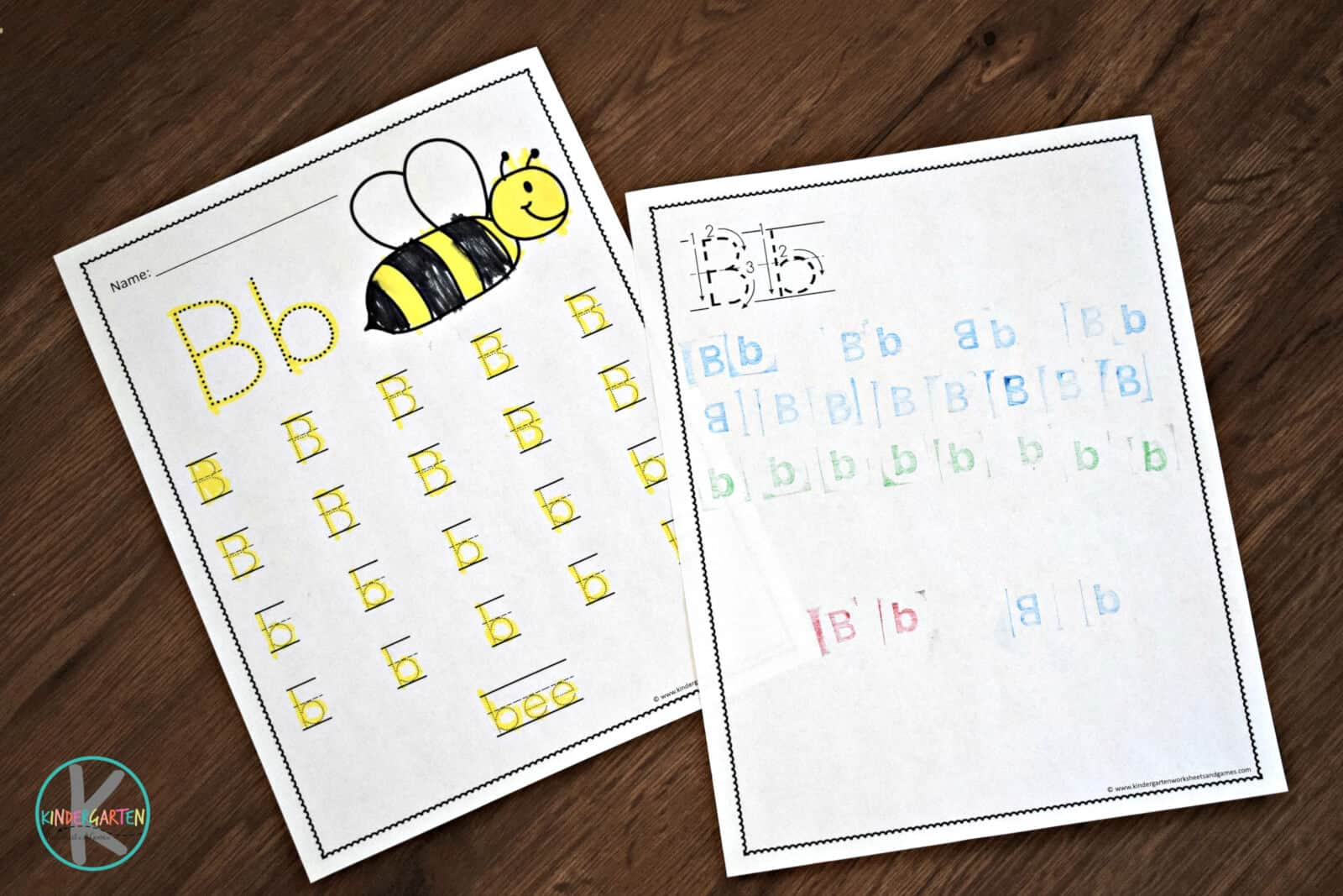 Free A To Z Worksheets For Kindergarten