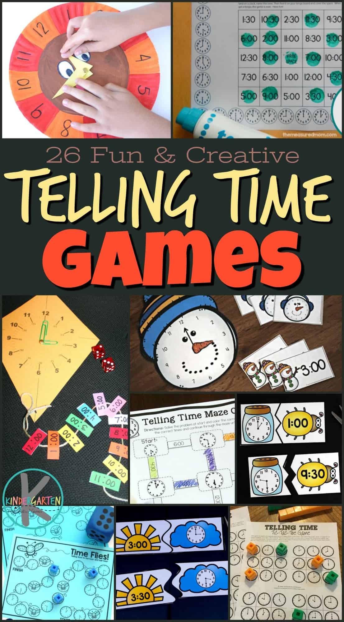 21 Telling Time Activities That Are Fun And Creative