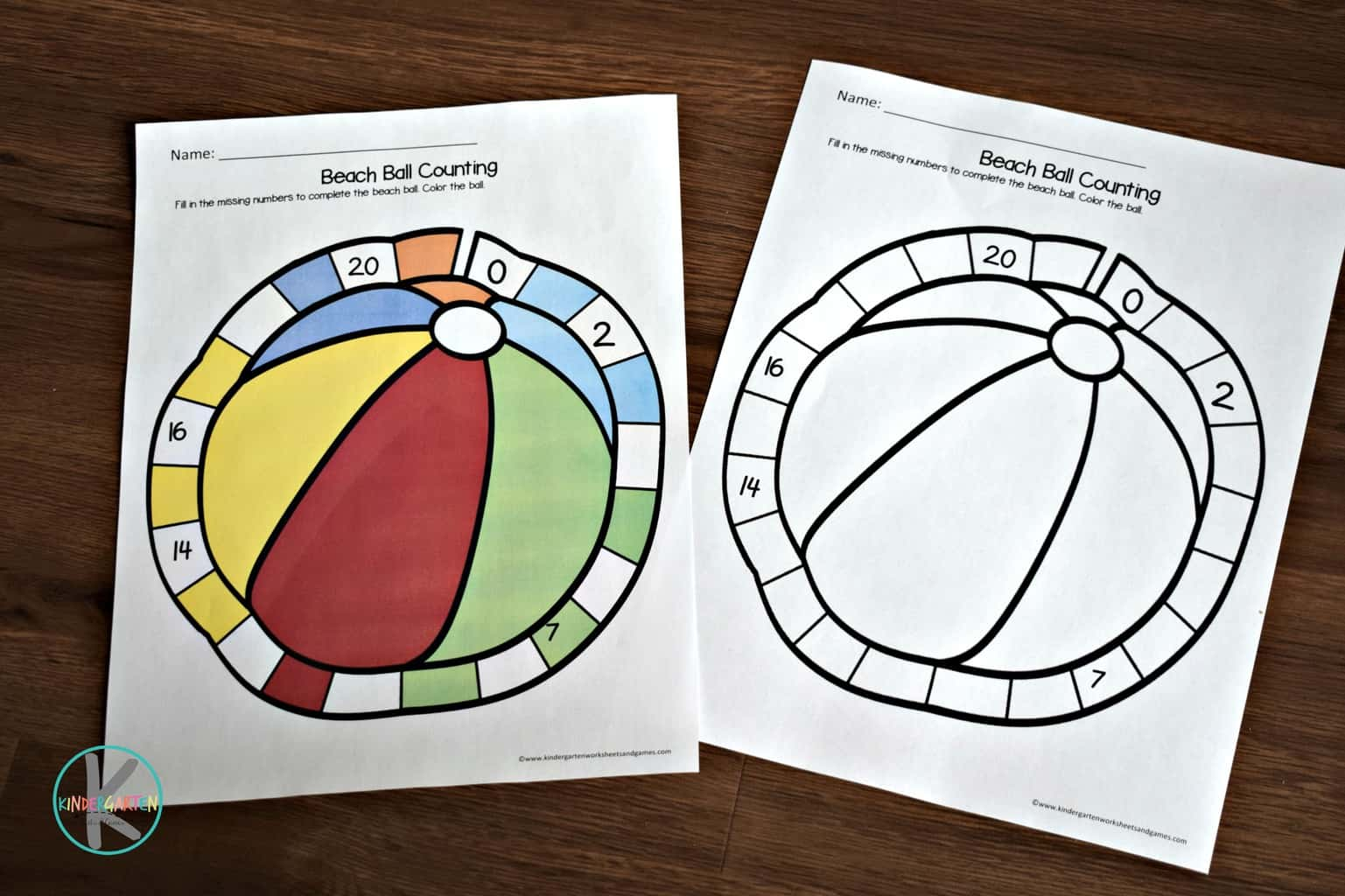Summer Kindergarten Math Worksheets Kindergarten
