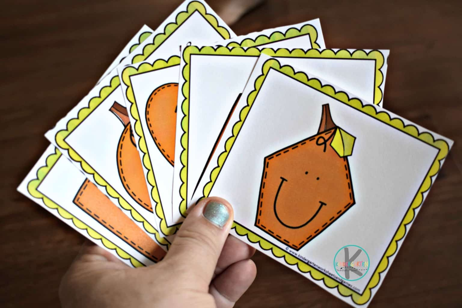 Pumpkin Shape Matching Game