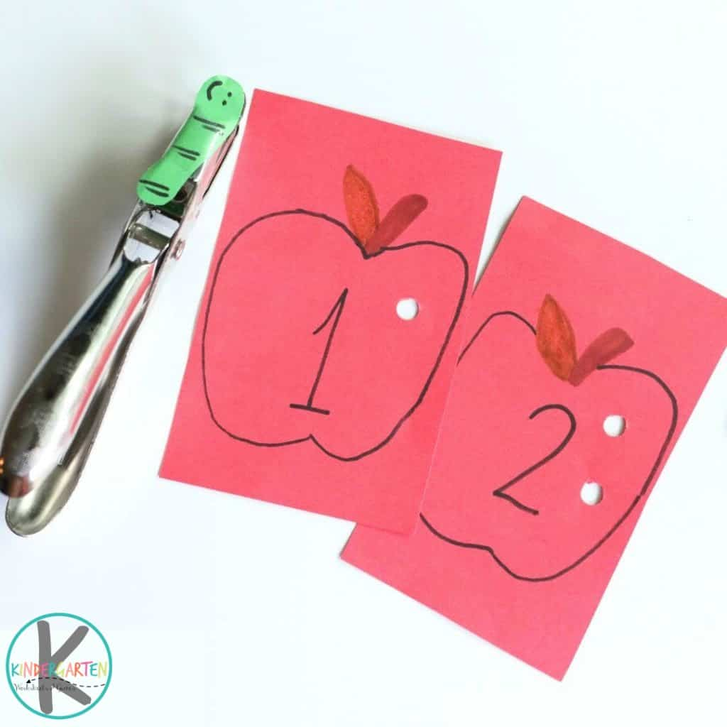 Apple Counting Activity Kindergarten Worksheets And Games