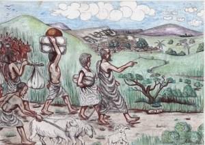 Kamerun-Karten Abraham unglaubeliche Verheißung