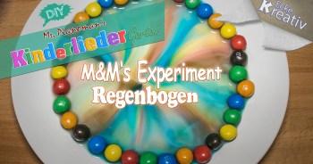 Kinder forschen - M&M'S Regenbogen-Experiment