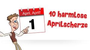 10 harmlose Aprilscherze für Kinder :: (c) Kinderliedergarten