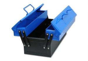 Kinderwerkzeugkasten blau