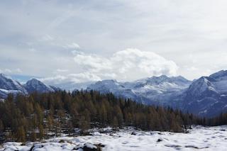 Bei Wind und Schnee musste sich die Haglöfs Jacke oberhalb vom Königssee bewähren. Foto. (c) Kinderoutdoor.de