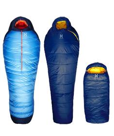 Schlafsäcke von Haglöfs: Die neue Linie Base Camp ist da, auch für Kinder! Foto (c) Haglöfs